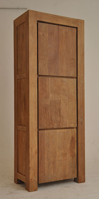 Contemerary cabinet in old wood