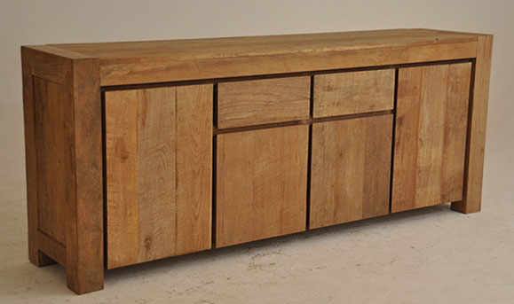 Sideboard recycled wood