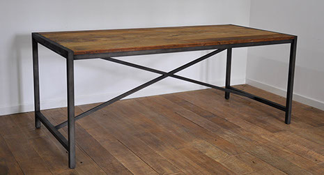 Metal Dining Table World Wide Furniture